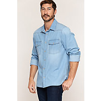 Image of Aiden Denim Western Shirt