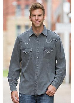 Ryan Michael Fillmore Silk Canvas Cotton Shirt