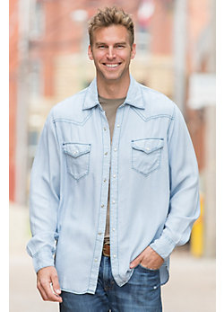 Ryan Michael Lakeside Tencel Shirt