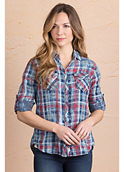 Ryan Michael Plaid Cotton Shirt