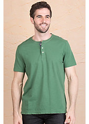 Jeremiah Abe Cotton Henley Shirt