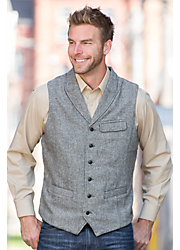 Jeremiah Benjamin Wool-Blend Vest