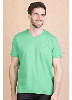 Jeremiah Gus Pad Print Cotton Jersey Polo Shirt