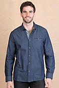 Jeremiah Clive Dobby Cotton Twill Shirt