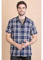 Jeremiah Colburn Reversible Cotton Gauze Shirt