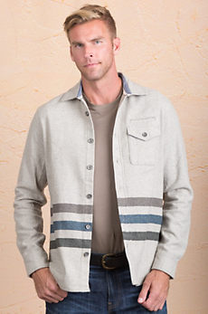 Jeremiah Trenton Cotton and Wool-Blend Shirt