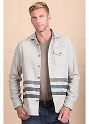 Jeremiah Trenton Cotton and Wool Blend Shirt