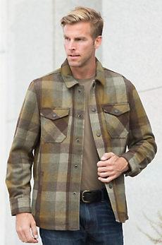 Jeremiah Durhal Wool-Blend Shirt Jacket