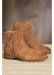 Women's J Shoes Navarra Short Leather Boots