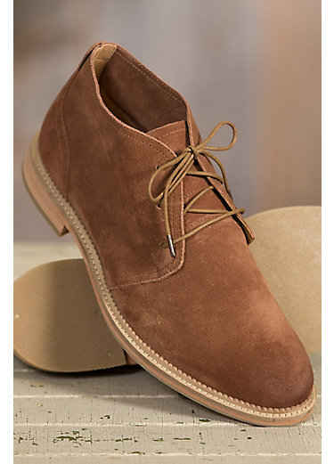 Men's J Shoes Monarch Suede Leather Chukka Boots