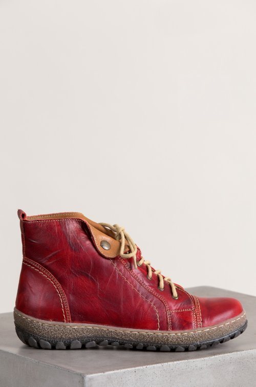 Women's Tucker Leather Ankle Boots