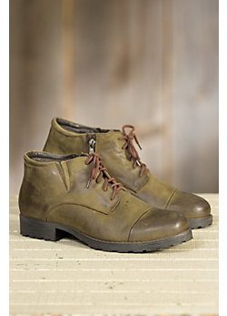 Men's Overland Samuel Wool-Lined Leather Boots