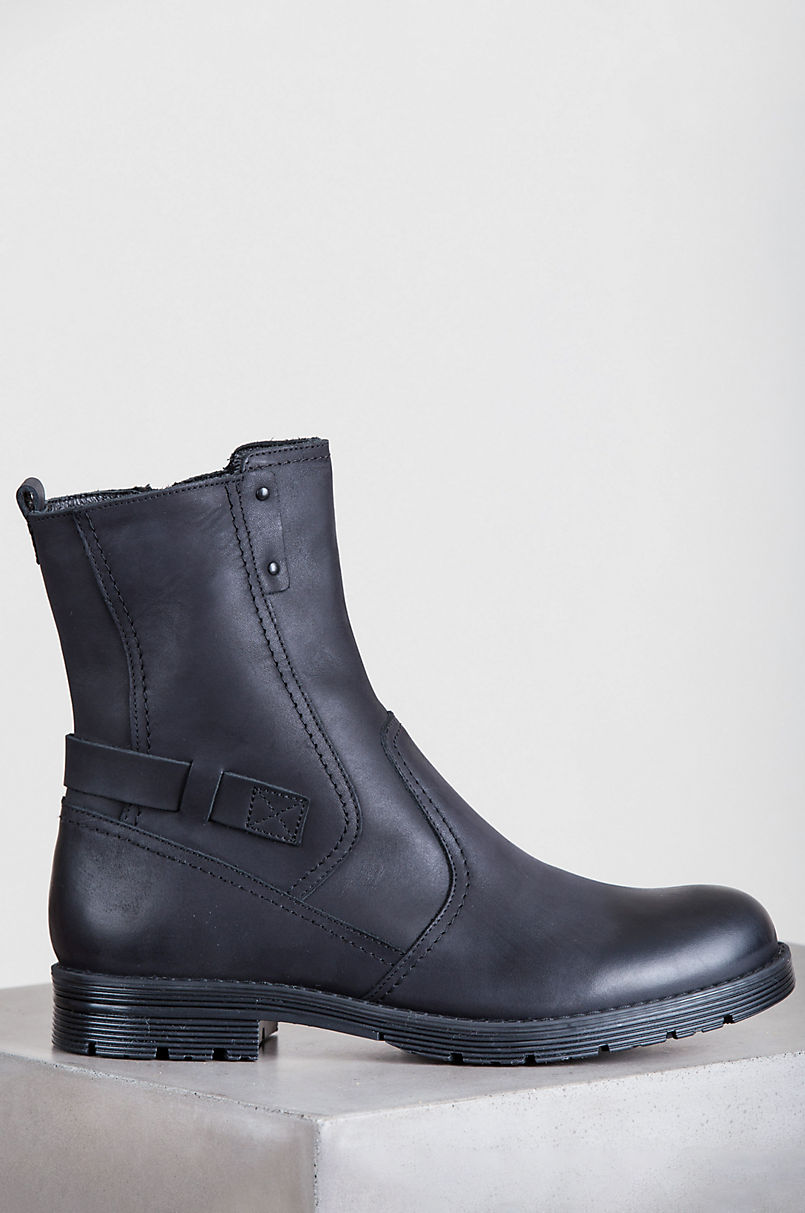 Men's Dolny Wool-Lined Leather Boots