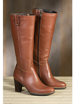 Women's Overland Darby Wool-Lined Leather Boots
