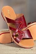 Women's Overland Wendy Leather Slide Sandals