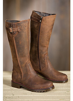 Women's Overland Debra Wool-Lined Leather Boots