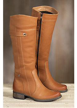 Women's Overland Abbey Fleece-Lined Leather Boots