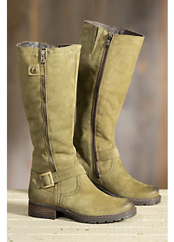 Women's Overland Marcella Wool-Lined Leather Boots
