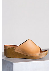 Women's Overland Luce Leather Slide Sandals