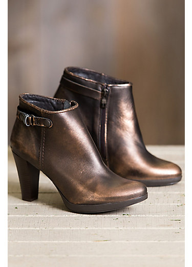 Women's Overland Gabrielle Leather Ankle Boots