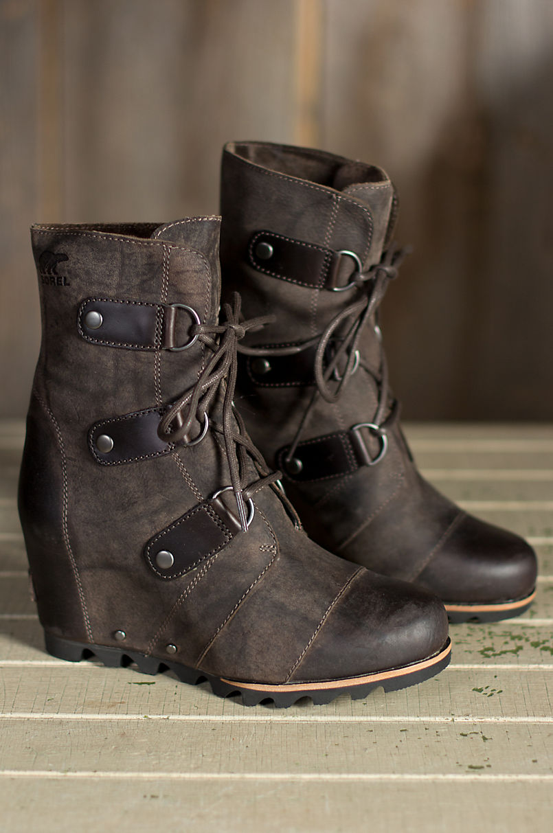 1b4bb81b79 Women s Sorel Joan of Arctic Wedge Mid Waterproof Leather Boots ...