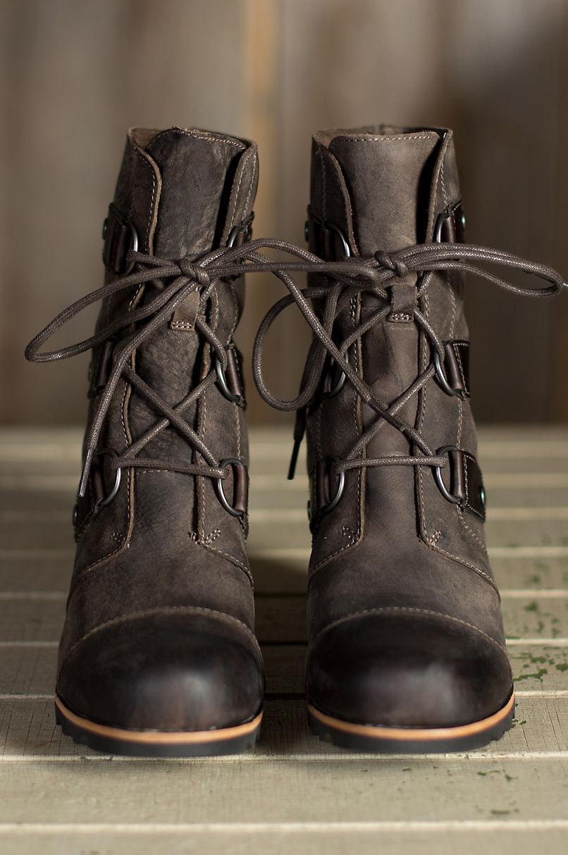 d4eabcddae8 Women s Sorel Joan of Arctic Wedge Mid Waterproof Leather Boots ...