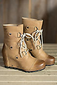 Women's Sorel Joan of Arctic Wedge Mid Waterproof Leather Boots