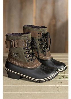 Women's Sorel Winter Fancy Fleece-Lined Waterproof Suede Boots