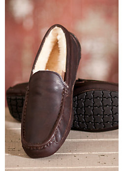 Men's Overland Aiden Sheepskin Slippers