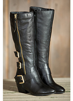 Women's Naya Frankie Tall Leather Boots