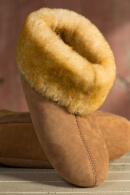 Men's Overland High-Top Sheepskin Slippers