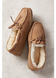 Men's Overland Sydney Sheepskin Moccasin Slippers
