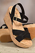 Women's Kork-Ease Ava 2.0 Suede Wedge Sandals
