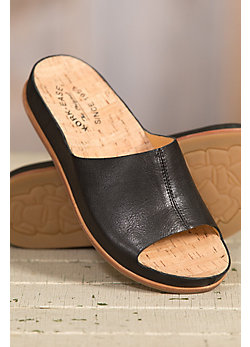 Women's Kork-Ease Tutsi Leather Slide Sandals
