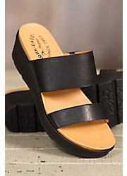 Women's Kork-Ease Kane Leather Slide Sandals