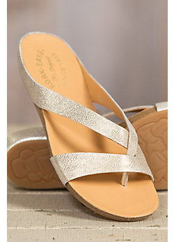 Women's Kork-Ease Devoe Leather Slide Sandals