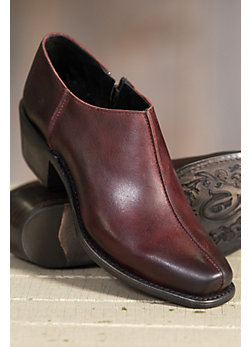 Women's Sonora Quinn Leather Mule Shoes