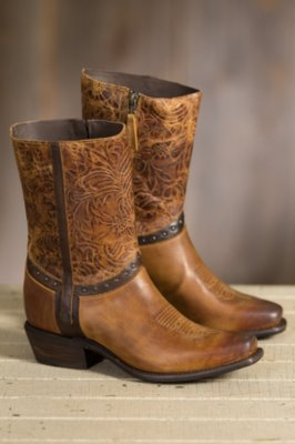 Women's Sonora Bailey Leather Cowboy Boots