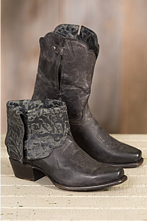 Women's Sonora Cassidy Leather Short Cowboy Boots | Overland