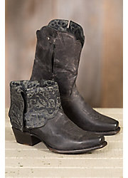Women's Sonora Cassidy Leather Short Cowboy Boots