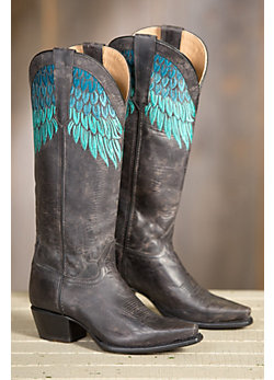 Women's Sonora Kelly Leather Cowboy Boots