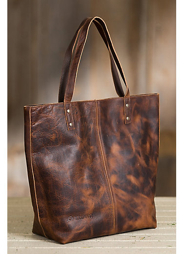 Overland Hannah Leather Tote Bag