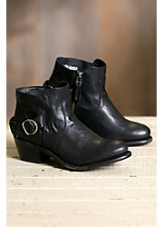 Women's Aubrey Leather Ankle Boots