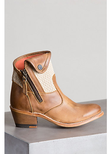 Women's Overland Daisy Leather Ankle Boots