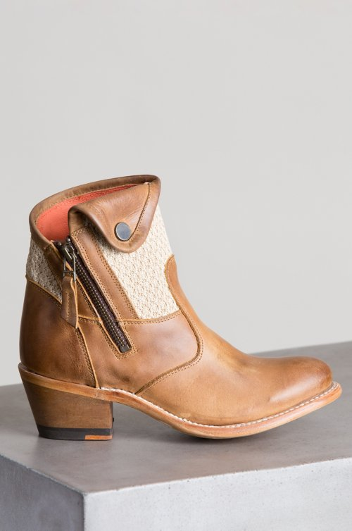 Women's Daisy Leather Ankle Boots