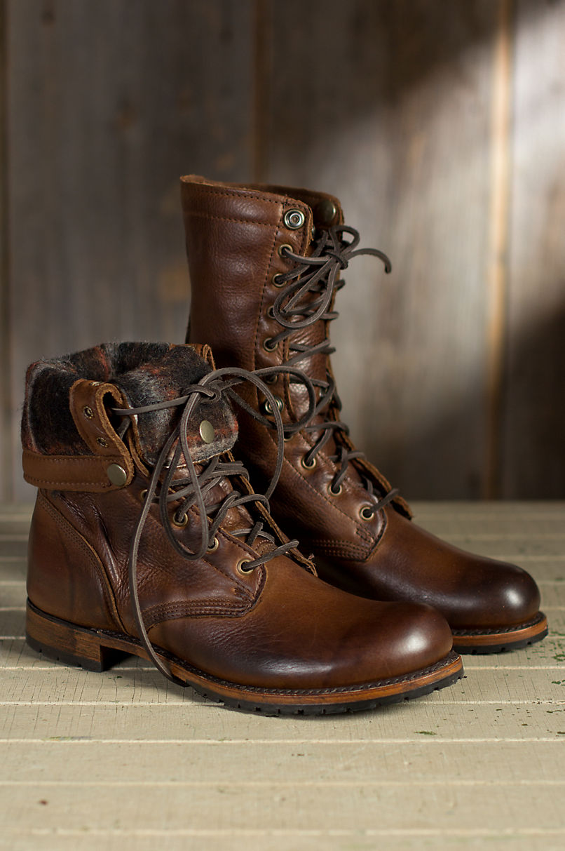 men's Leather boots