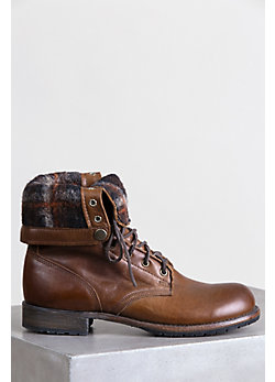 Men's Walk-Over Ian Fold-Over Leather Jump Boots