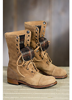 Women's Walk-Over Adeline Wool-Lined Suede Boots
