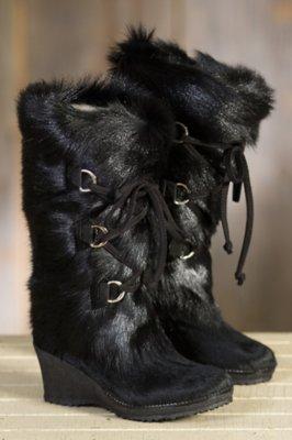 Women's Julia Shearling-Lined Goatskin and Cowhide Boots