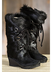 Women's Julia Shearling-Lined Goatskin and Cowhide Boots